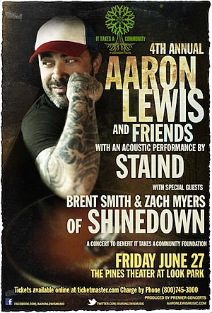 2014 Aaron Lewis and Friends Benefit
