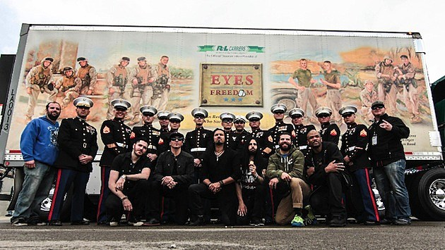 Pop Evil DMC Lima Company Marines