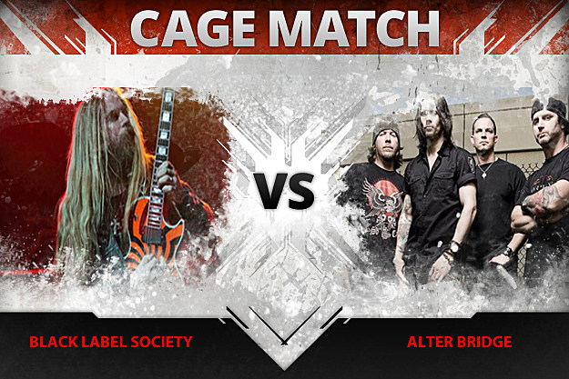 Black Label Society vs Alter Bridge
