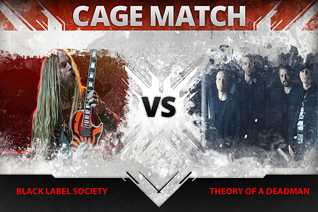 Black Label Society vs Theory of a Deadman
