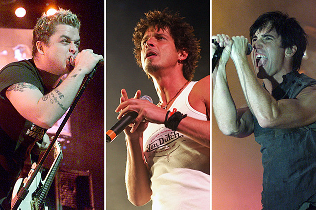 Green Day Soundgarden Nine Inch Nails