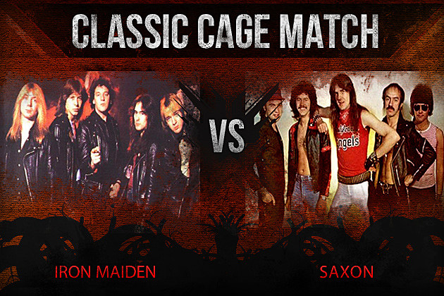 Iron Maiden vs Saxon