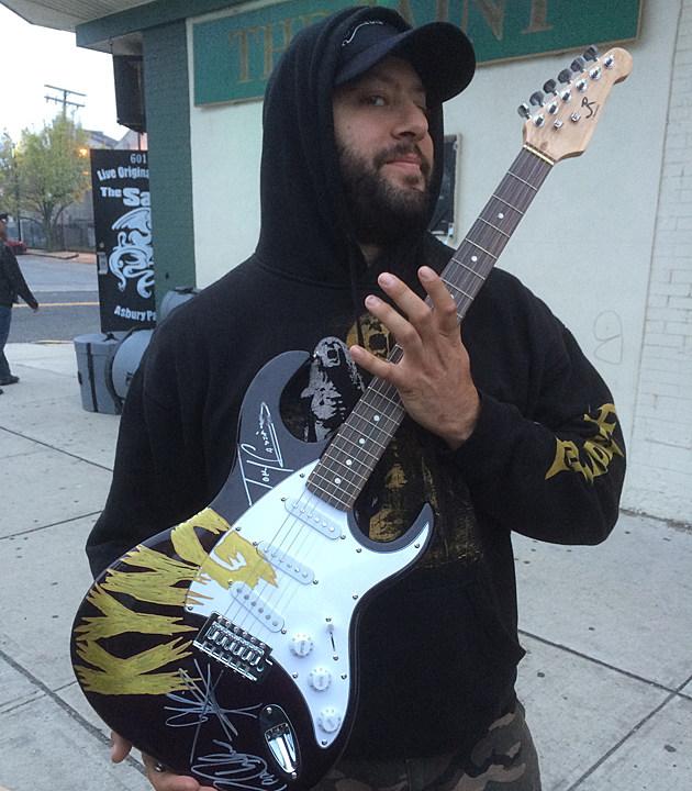 Kyng Signed Guitar