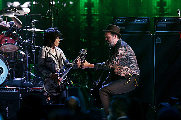 Joan Jett and Krist Novoselic