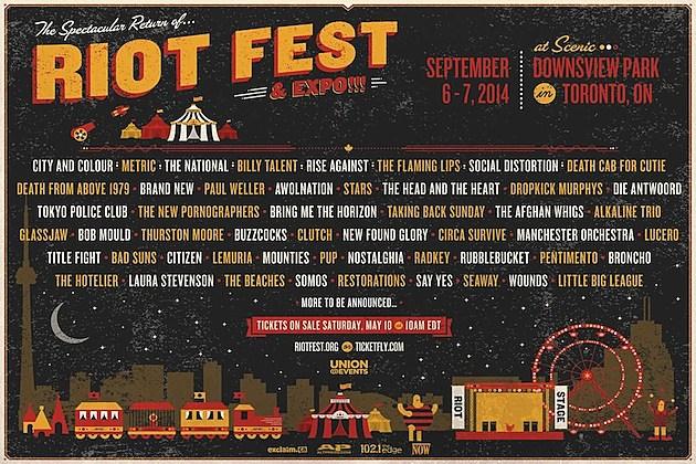 Riot Fest Toronto 2014