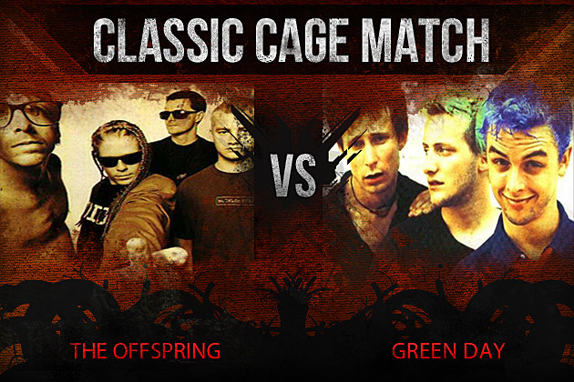 The Offspring vs Green Day