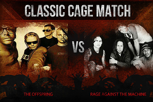 The Offspring vs Rage Against the Machine