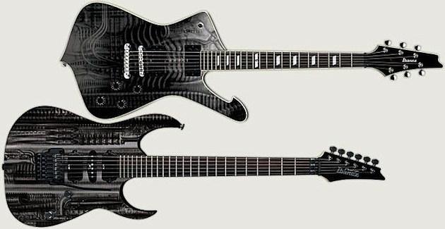 H.R. Giger Ibanez Guitars