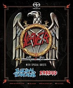 Slayer, Suicidal Tendencies + Exodus