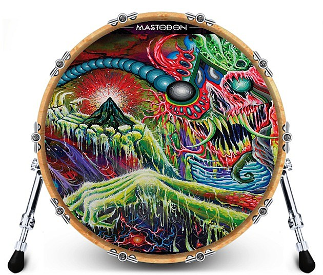 Mastodon bass drum