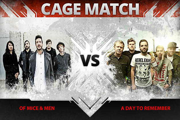 Of Mice and Men vs A Day to Remember