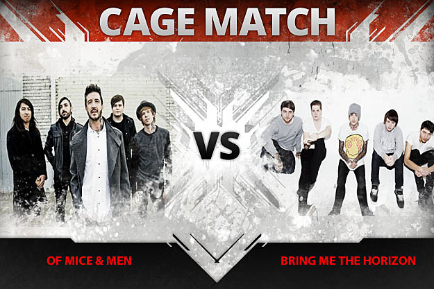 Of Mice and Men vs Bring Me the Horizon