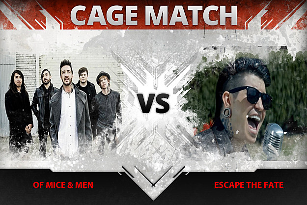 Of Mice and Men vs Escape the Fate