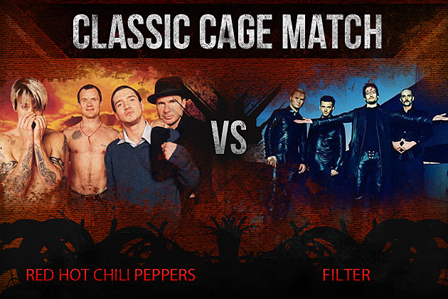 Red Hot Chili Peppers vs Filter