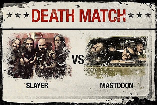 Slayer vs. Mastodon