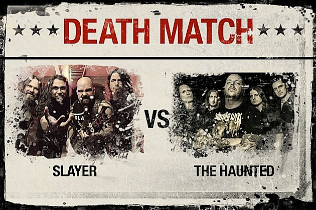 Slayer vs. The Haunted