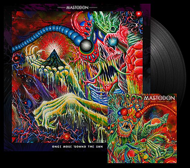 Mastodon Once More Round the Sun Vinyl