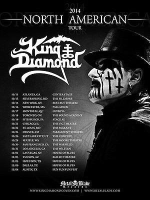King Diamond 2014 Tour