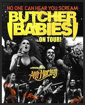 Butcher Babies 2014 Tour