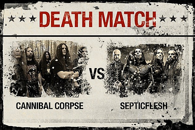 Cannibal Corpse vs. Septicflesh