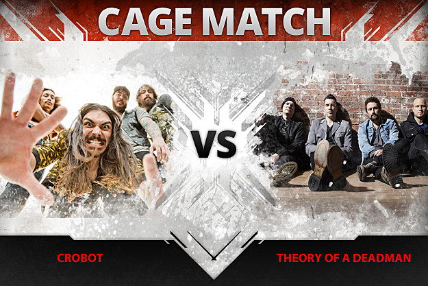 Crobot vs. Theory of a Deadman