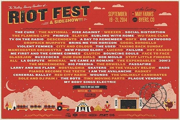 Denver Riot Fest 2014