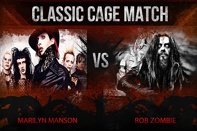 Marilyn Manson vs Rob Zombie