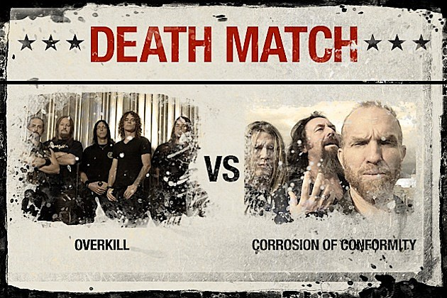 Overkill vs. Corrosion of Conformity