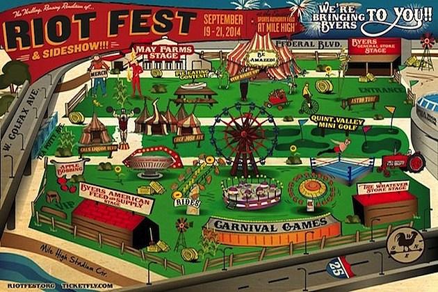 Denver 2014 Riot Fest
