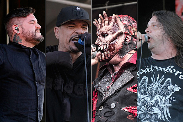 Suicide Silence Body Count Mushroomhead Cannibal Corpse