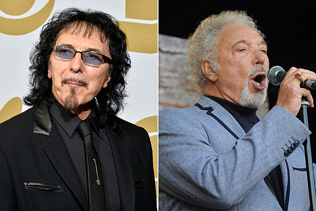 Tony Iommi Tom Jones