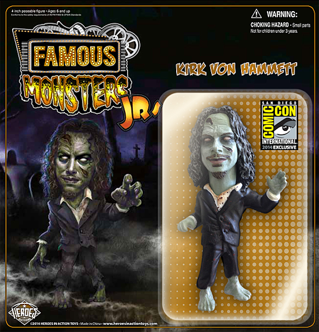 Kirk Von Hammett Action Figure