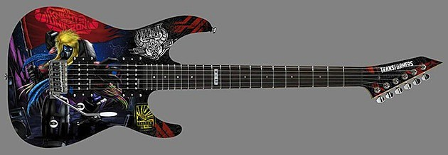 Transformers ESP LTD M-10 Electric Guitar