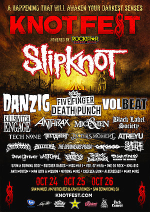 Knotfest Poster