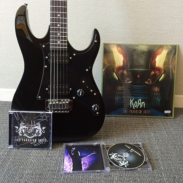 Korn The Paradigm Shift World Tour Edition Prize Package