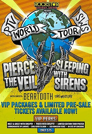 Pierce the Veil Sleeping With Sirens Tour