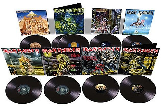 Iron Maiden Vinyl Reissues