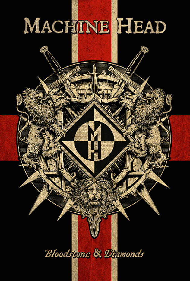 Machine Head Bloodstone and Diamonds Book Cover