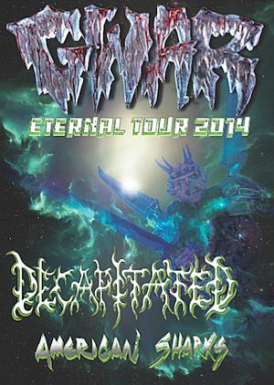 2014 Gwar Tour