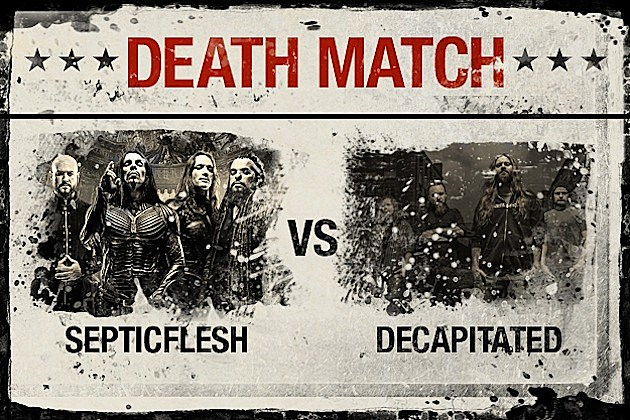 Septicflesh vs. Decapitated