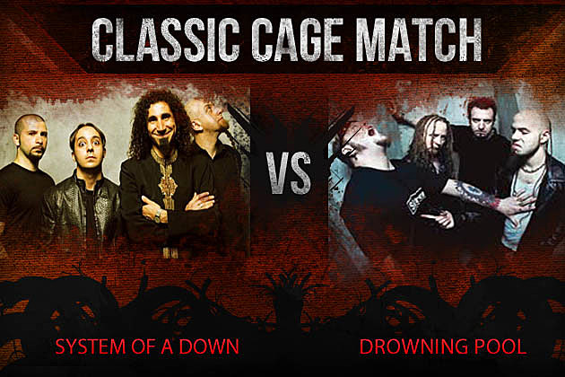 System of a Down vs Drowning Pool