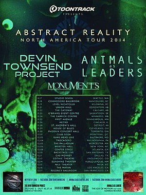 Animals As Leaders @ Montréal