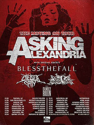 Asking alexandria tour dates