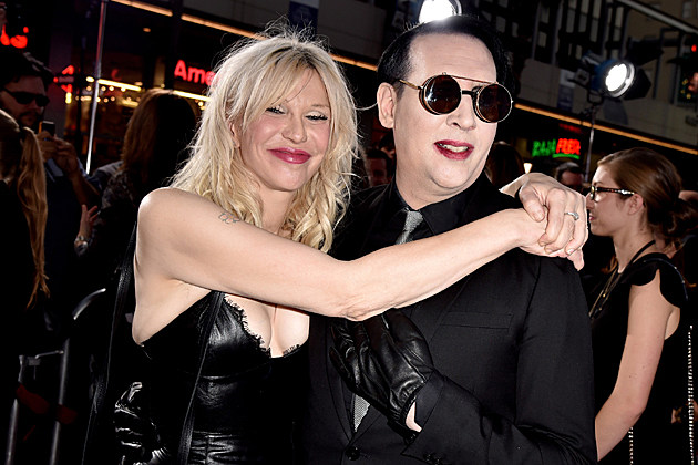 Courtney Love Marilyn Manson