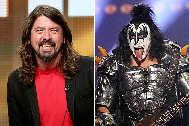 Dave Grohl Gene Simmons