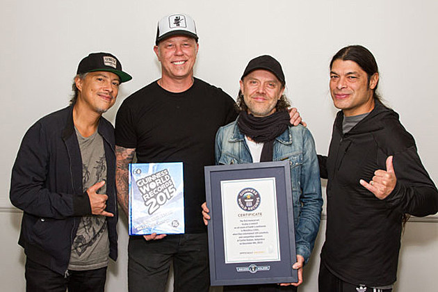 Metallica Guinness World Record