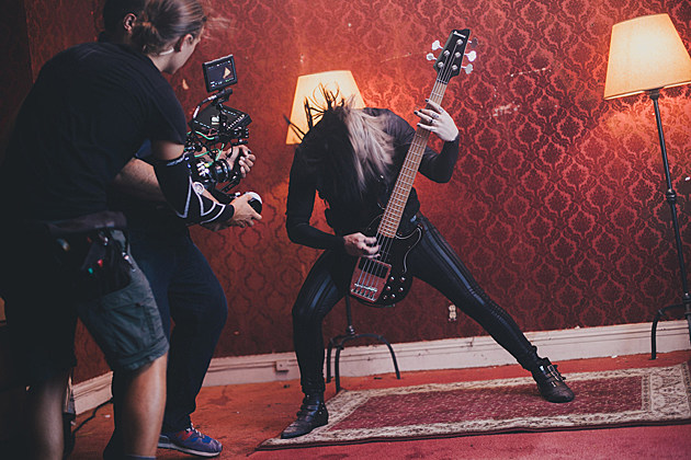 motionless in white photos from reincarnate video shoot