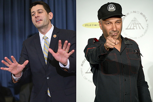 Paul Ryan Tom Morello