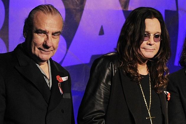 Bill Ward + Ozzy Osbourne