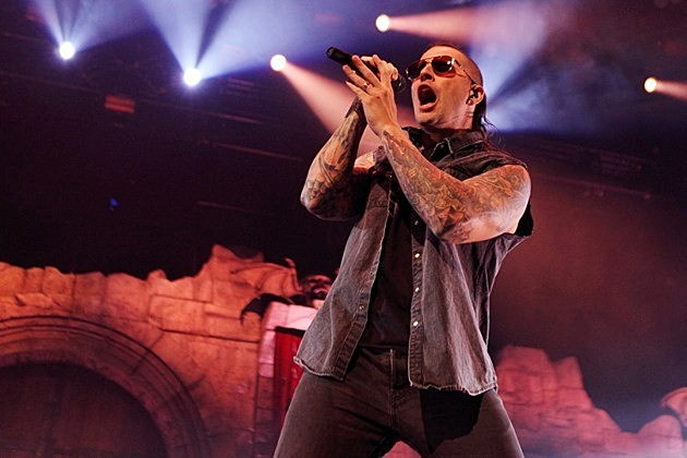M Shadows 2014 Avenged Sevenfold's M....